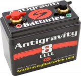 8-cell Ultra Hi-Power Lightweight Lithium Motorsports Battery